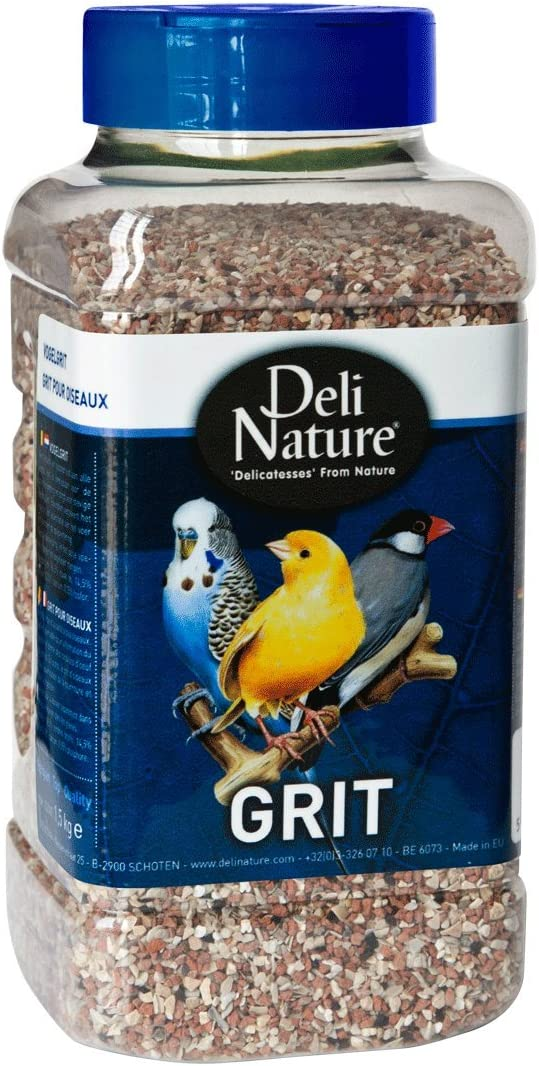 DELINATURE Grit para Pájaros - 1200 gr, Pájaros