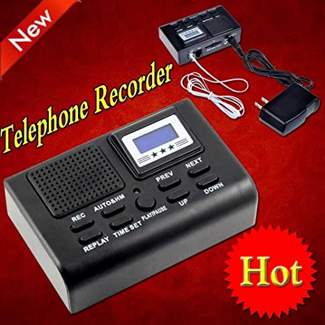 Amazon.com: Sourcingbay – Mini Grabadora de teléfono de ...