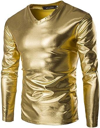 Camiseta Hombre Camisa Lisa Estilo Simple Verano En De Color ...