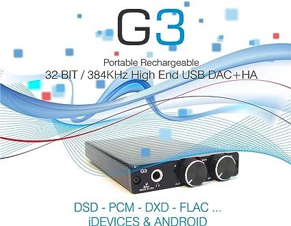 Amazon com: MICROSHAR G3-32 BIT/ 384KHz HIGH END DAC: PCM, DSD, DxD