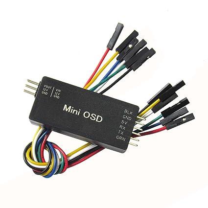 Amazon com: Hobbypower Mini OSD Module On Screen Display for APM