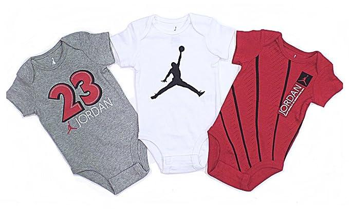 Nike Air Jordan garçon Plus Grands Player jamais de Body 3 pièces, Enfant, Red