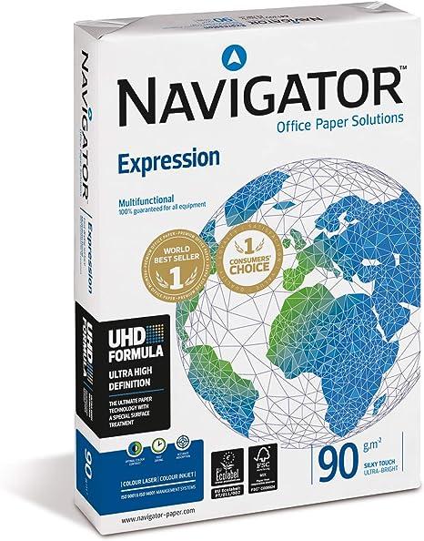 Navigator Expression - Paquete de 500 folios de papel para ...