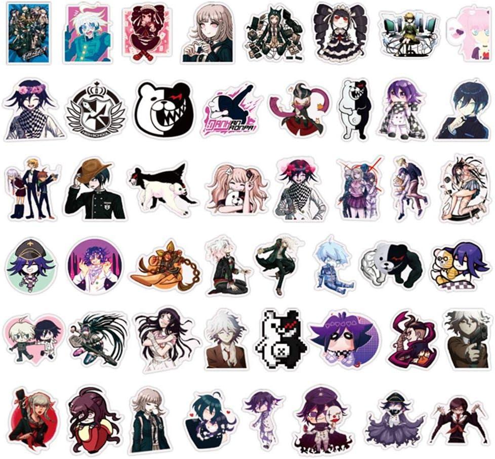 CAR-TOBBY 100pcs Anime Danganronpa V3 Ouma Kokichi Stickers Decor Skateboard Computer Decals