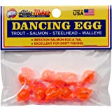 Atlas Mike's Bag of Dancing Salmon Fishing Bait Eggs (Pack of 10)