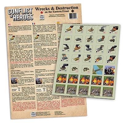 Academy Games CoH: Eastern Front: Wrecks & Destruction 5103: Toys & Games