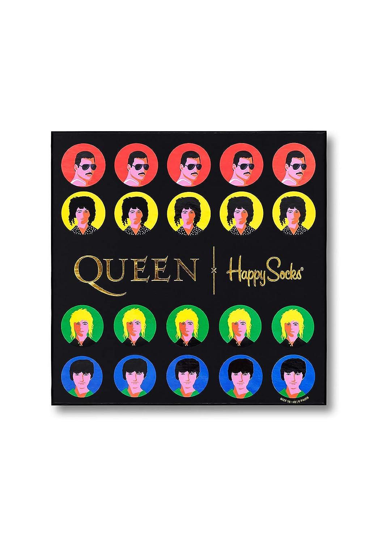 Happy Socks XQUE10-0100 multicolore 6 pezzi Confezione regalo Queen