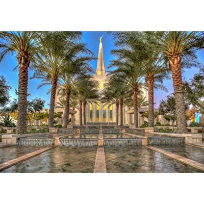 Gilbert Arizona Temple Jigsaw Puzzle - 1000 Piece - Latter Day Saints LDS: Toys & Games [5Bkhe0904701]