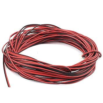 sourcingmap® 26AWG innen außen PVC isolierter elektrischer Draht ...