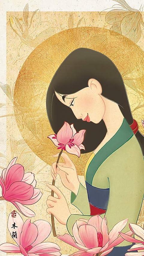 ディズニー ムーラン 花の香り XFVGA(480×854)壁紙画像