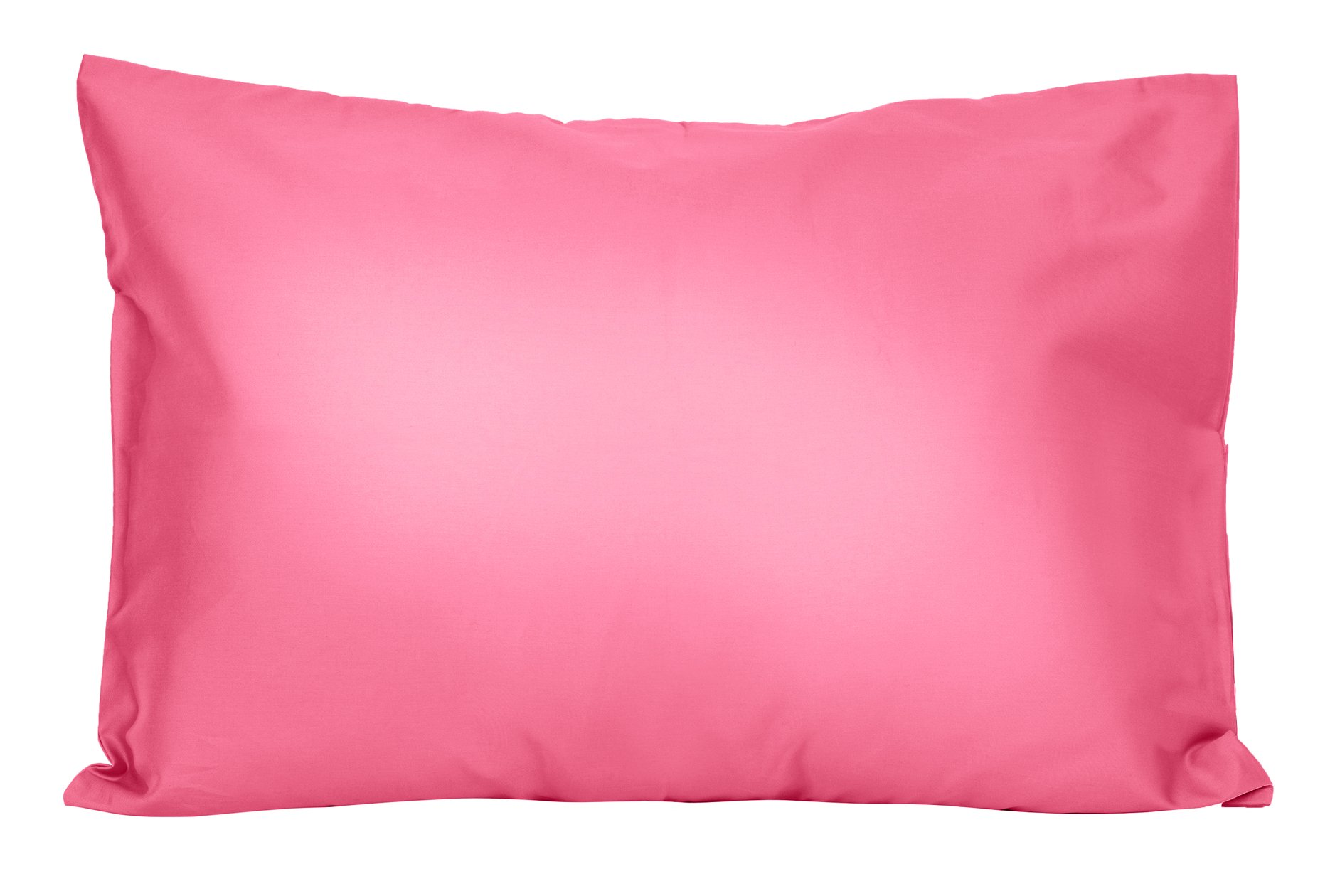 2 Hot Pink Toddler Pillowcases - Envelope Style - For Pillows Sized 13x18 and 14x19 - 100% Cotton With Soft Sateen Weave - Machine Washable - ZadisonJaxx Bellacolour Collection - 2 Pack