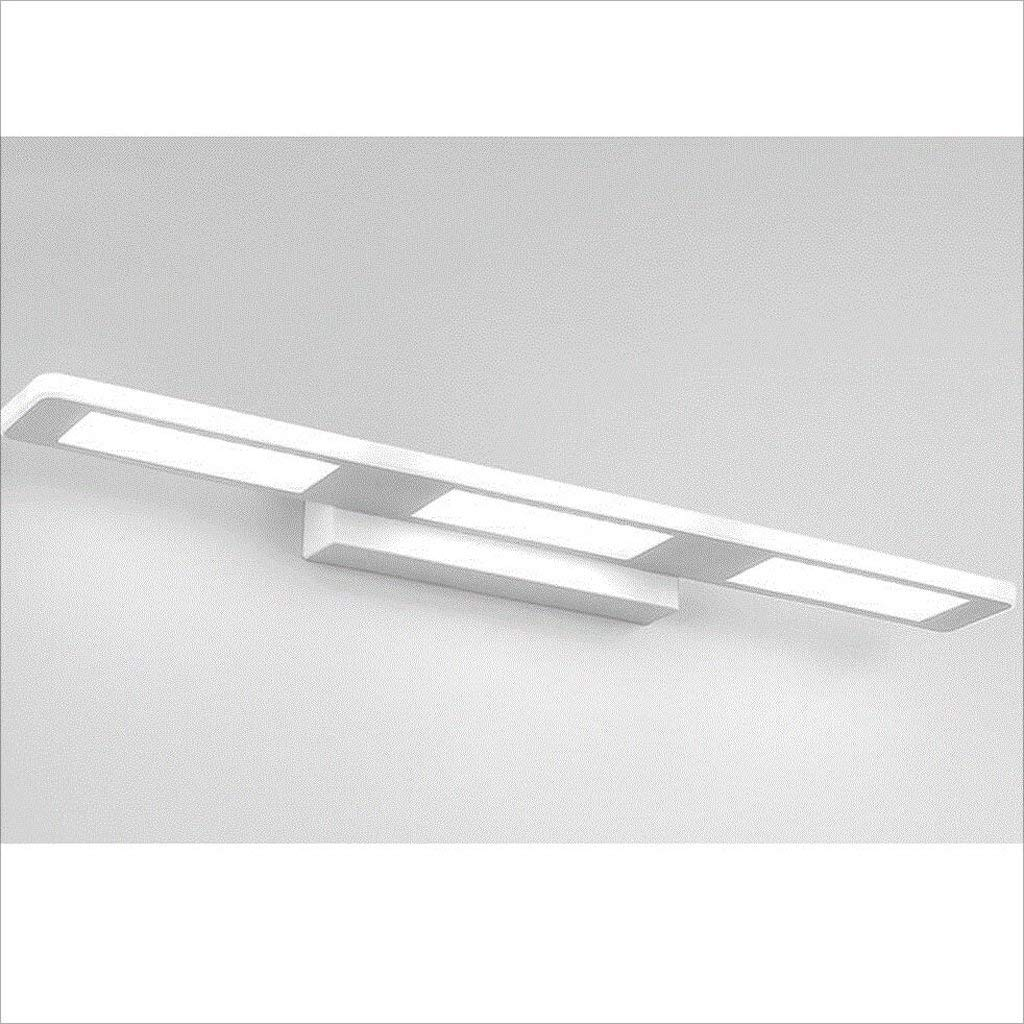 Weiß-12w37cm ZTMN Pride S Badezimmer Waschraum LED wasserdichte Spiegel Front Licht einfache Mode Schlafzimmer Wand Lampe Kommode Spiegel Licht Energieeffizienz A + (Farbe  Weiß-12w37cm)