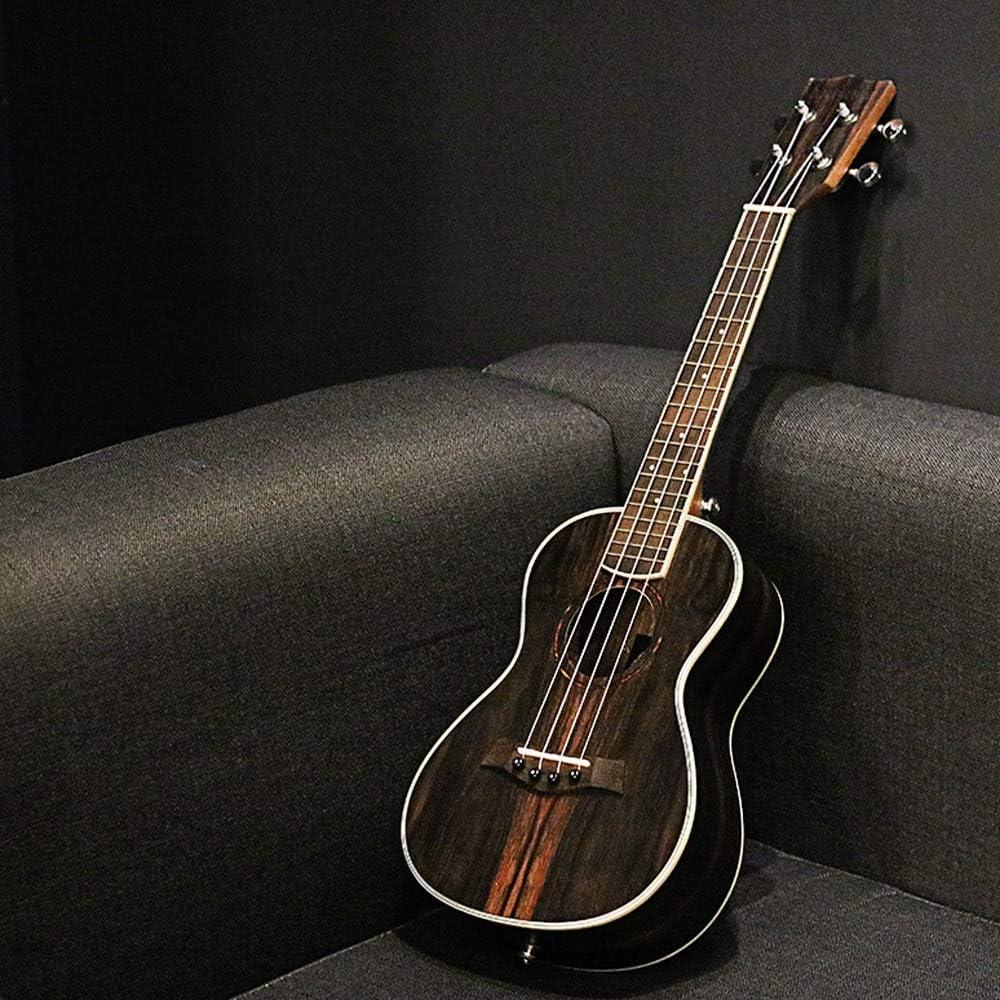 Mkulele Ukelele Ebony 23 pulgadas Uklele Escuela Negro Guitarra ...