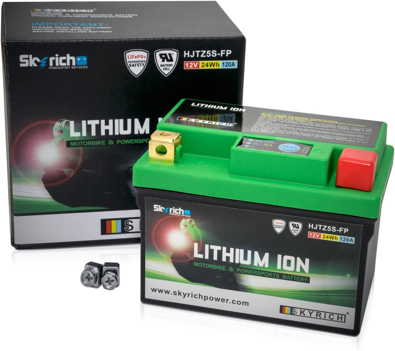 Skyrich HJTZ5S-FP batería Recargable Industrial Litio 12 V - Batería/Pila Recargable (Litio, 12 V, 1 Pieza(s))