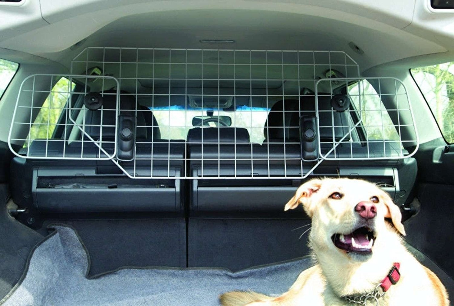 CAR MESH GRILL DOG GUARD PET BARRIER PROTECTOR FITS FORD C-MAX  GRAND 2011/>