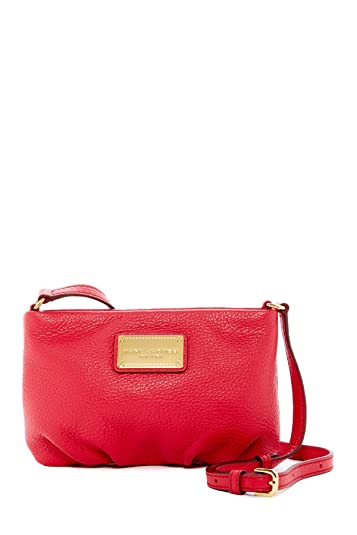 0e320d777d Amazon.com: Marc by Marc Jacobs New Q Percy Cross-Body Bag (Crimson Pink):  Shoes