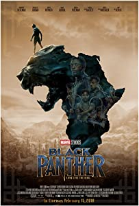 KodiakPrints Black Panther (Africa Ver. F) Movie Poster Size 24
