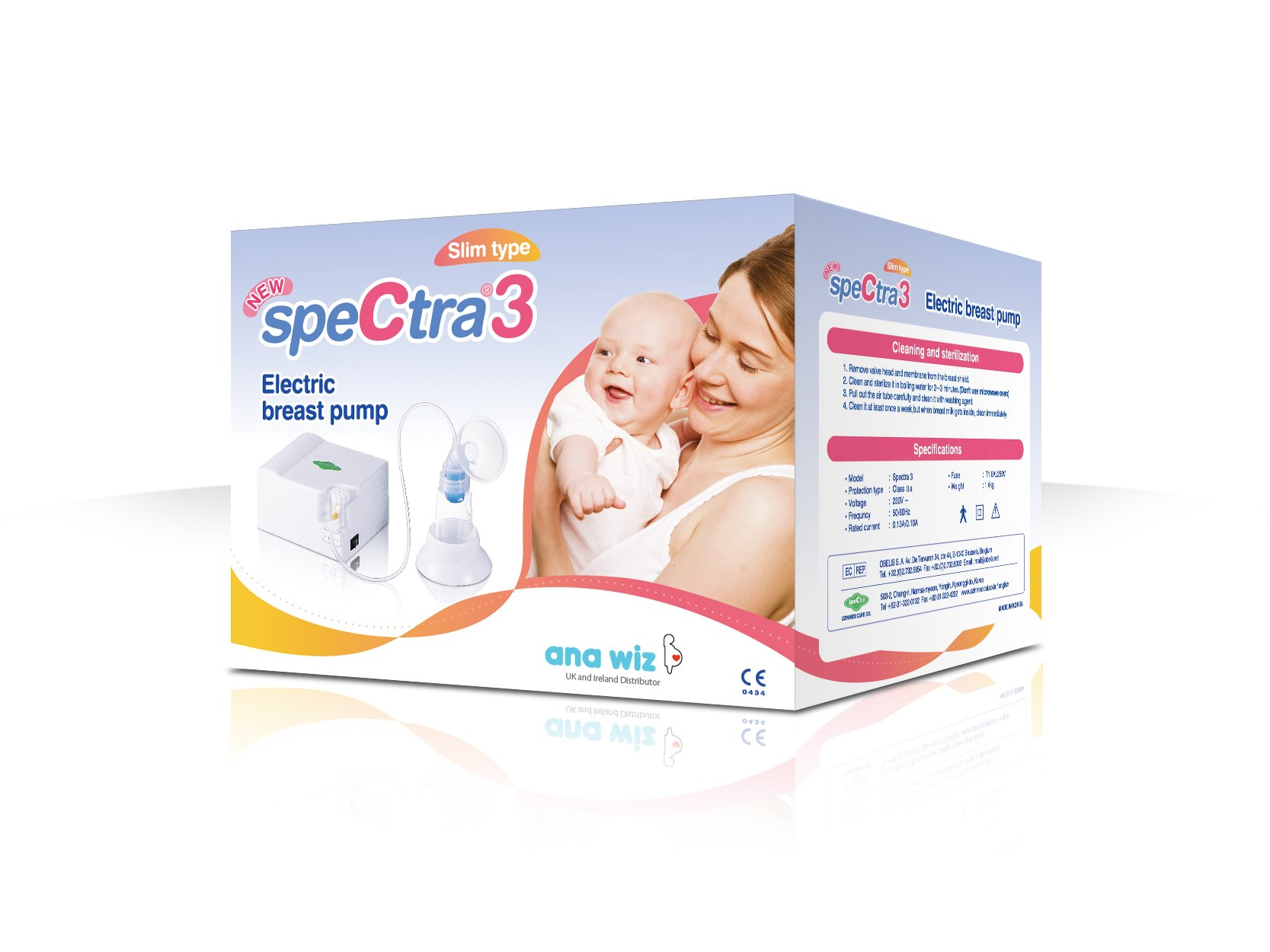 Only Available During the Holidays! Spectra 3 Electric Hospital Type Piston Breast Pump