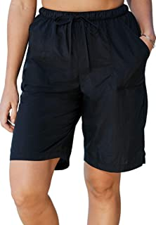 c83fd5709a6 Swimsuits For All Women's Plus Size Taslon Swim Board Shorts with Built-in