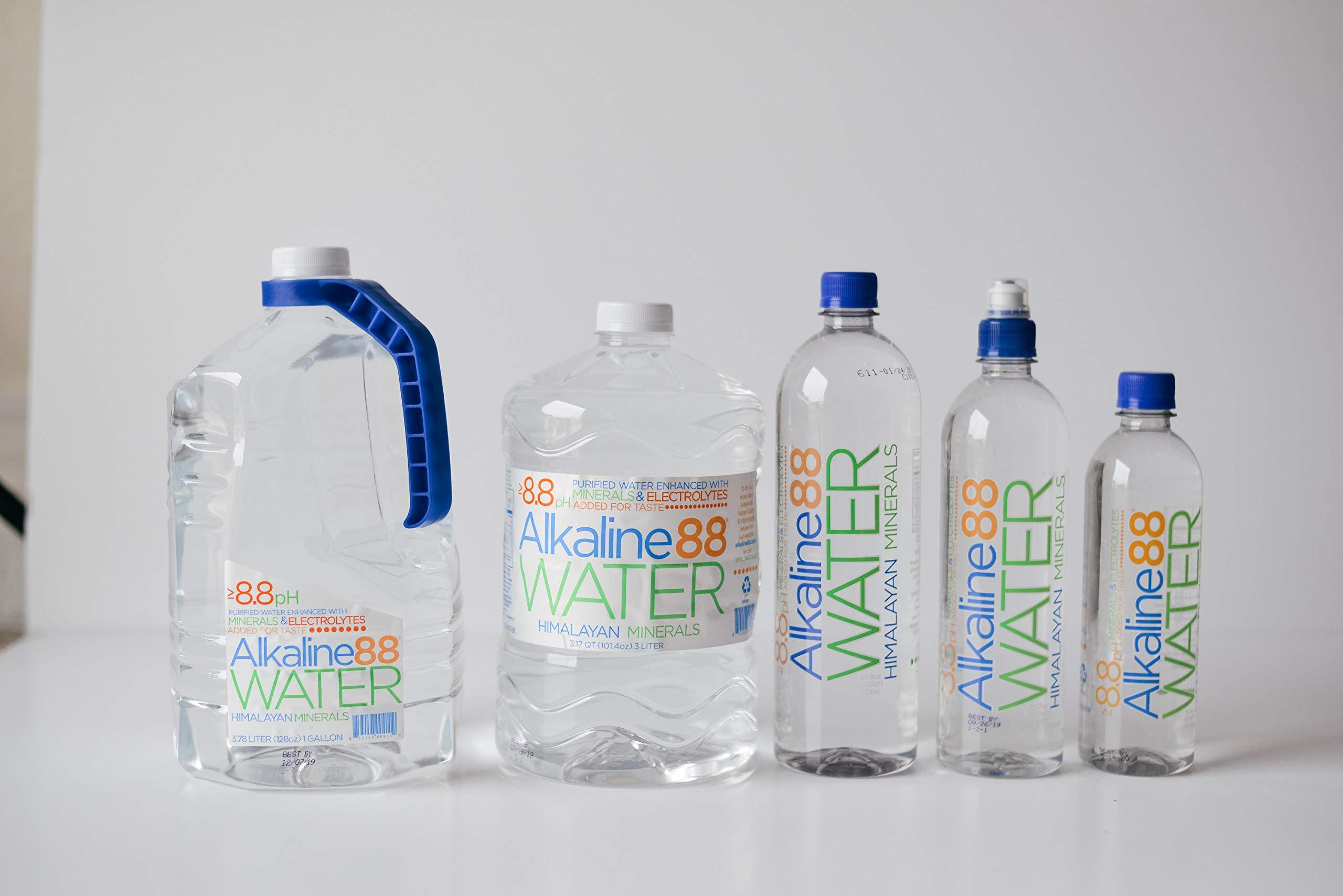 Alkaline 88 Bottled Water, 3-Liter (Pack of 4)