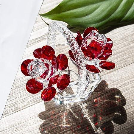 H&D HYALINE & Dora Tetera de cristal para decoración del