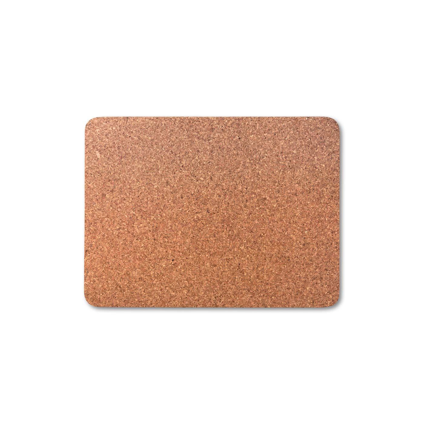 Cleverbrand Dessous de Plat sous-Plat en li/ège env. 40 x 30 x 1 cm rectangulaire