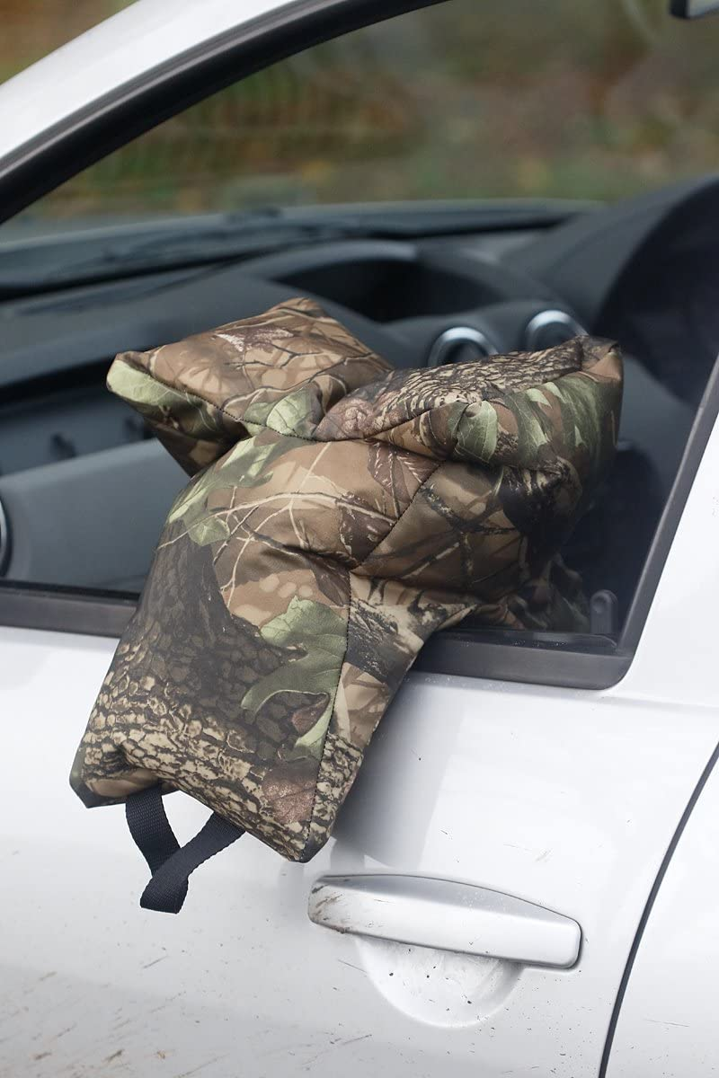 This version is supplied empty. Leaf pattern Wildlife Photography lens support from a car Grappler Camera Bean Bag Very Waterproof