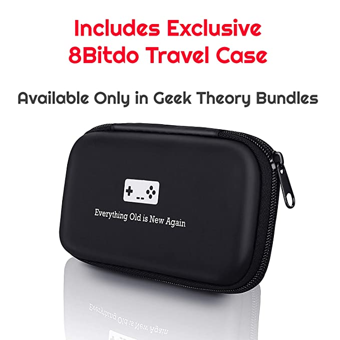 Geek Theory 8Bitdo N30 Pro 2 Controller Bundle (C Edition) - Includes BONUS  Carrying Case - Updated 2019 Version - Android/Mac/PC/Switch/NES and SNES
