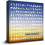 商用OK!アニマルシルエット(300種類以上の動物のシルエットイラスト素材集)