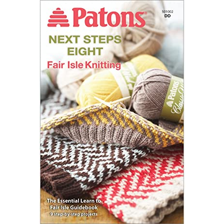 Amazon.com: Spinrite Patons Next Steps Eight Fairisle Knitting Kit ...