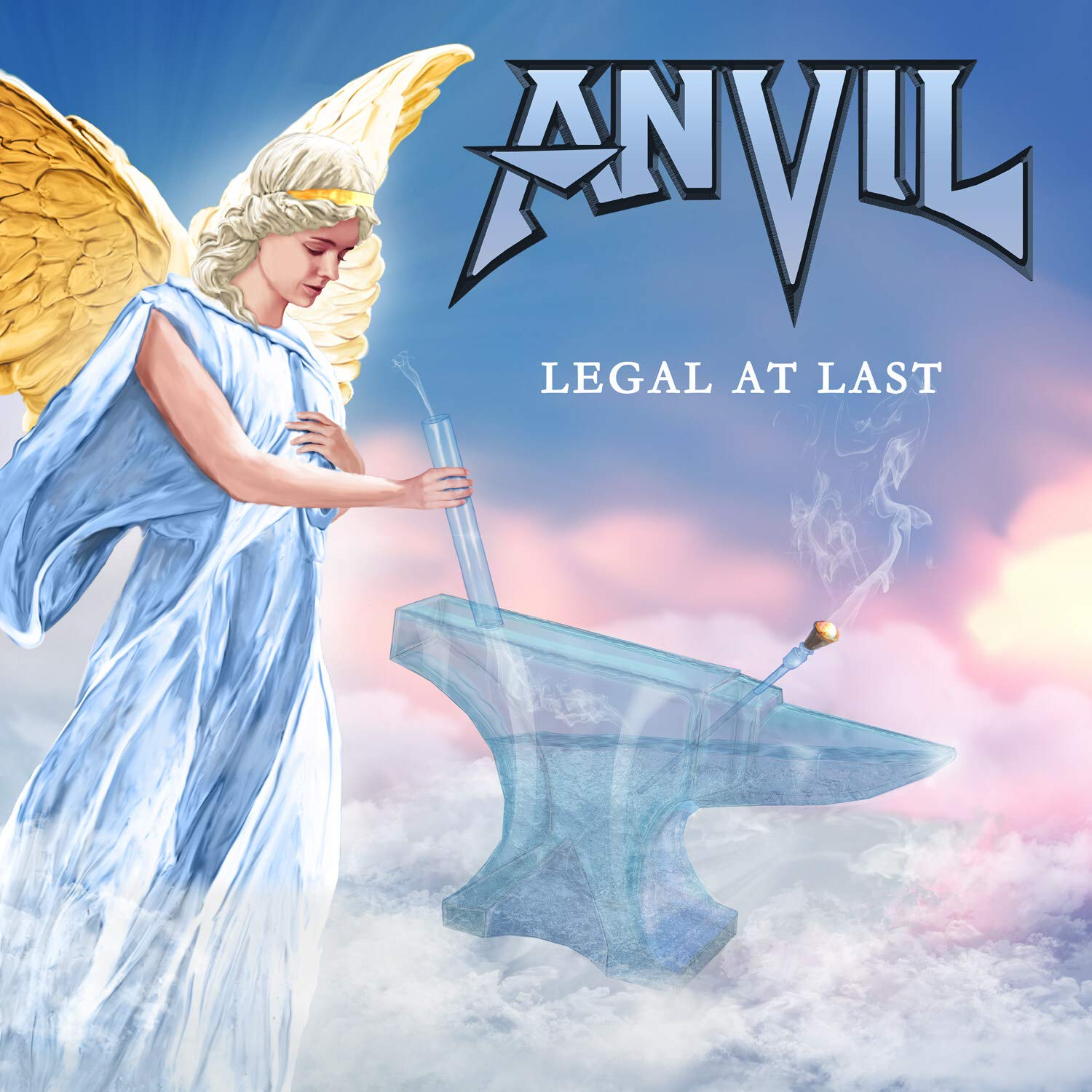 Legal at Last (Digipak) - Anvil: Amazon.de: Musik