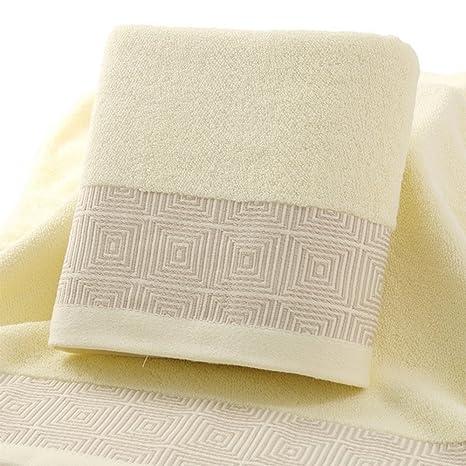 pyan Juego de toallas, toallas, cable de 6 unidades finas (27 x 55