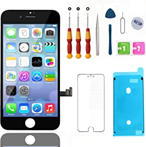 Swgrdin 3D Touch Screen Full Frame Assembly for iPhone 7 Plus Screen Replacement Black 5.5
