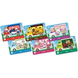 6 Pcs for Animal Crossing New Horizons ACNH Sanrio Collaboration Pack Mini Cards Compatible with Switch
