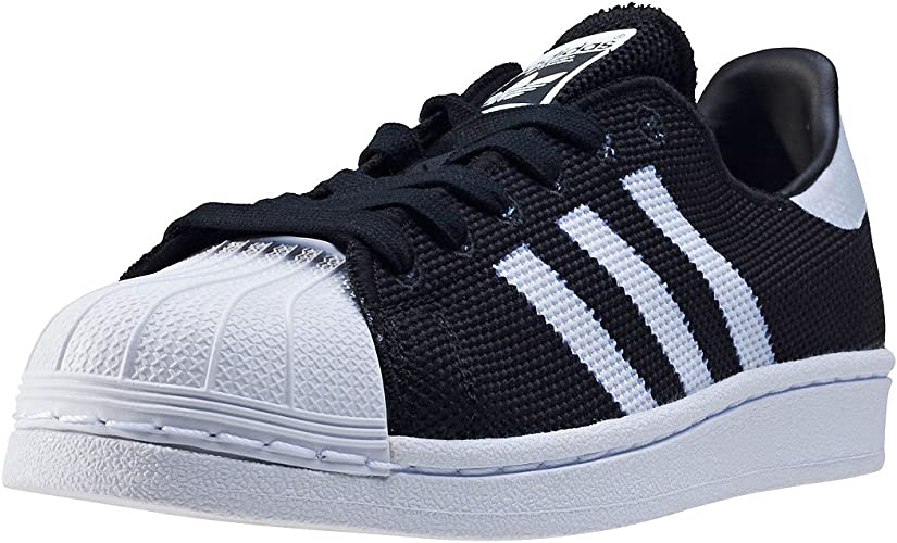 adidas Superstar Mesh Junior Noire Et Blanche Noir 37 ...