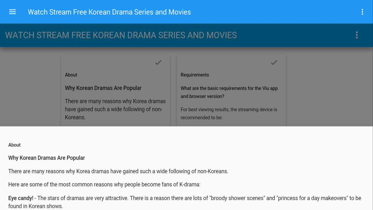 Watch Stream Free Ultra HD Korean Drama, Series and Movies (No registration  needed!)