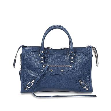 Sac À Balenciaga Bleu Claire 431621d94jn4222 Femme Cuir MainAmazon zqMVpSU