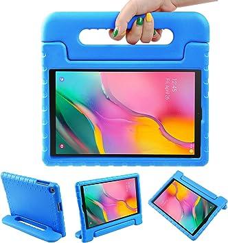LEADSTAR Funda para Samsung Galaxy Tab A 10.1 2019, Ligero y Super Protective Antichoque EVA Estuche Protector Diseñar Especialmente Manija Caso con Soporte para los Niños, SM-T510 / T515 (Azul): Amazon.es: Electrónica