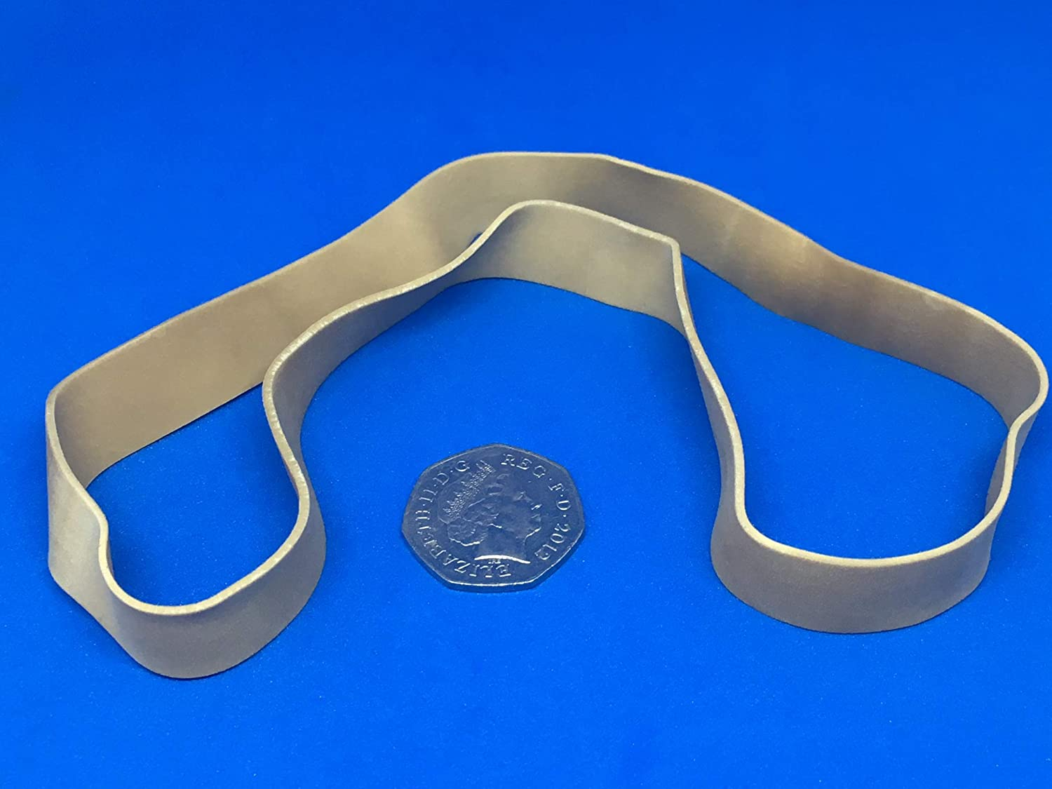 Qty 100 Extra Large No.108 Rubber Elastic Bands 200mm x 16mm