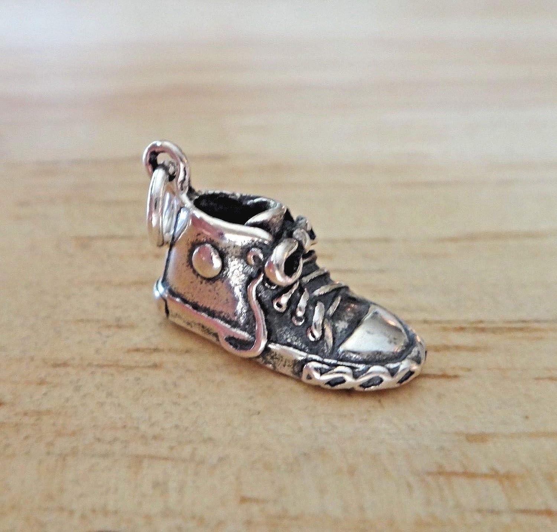 Beautiful Sterling Silver Tennis Shoe Charm