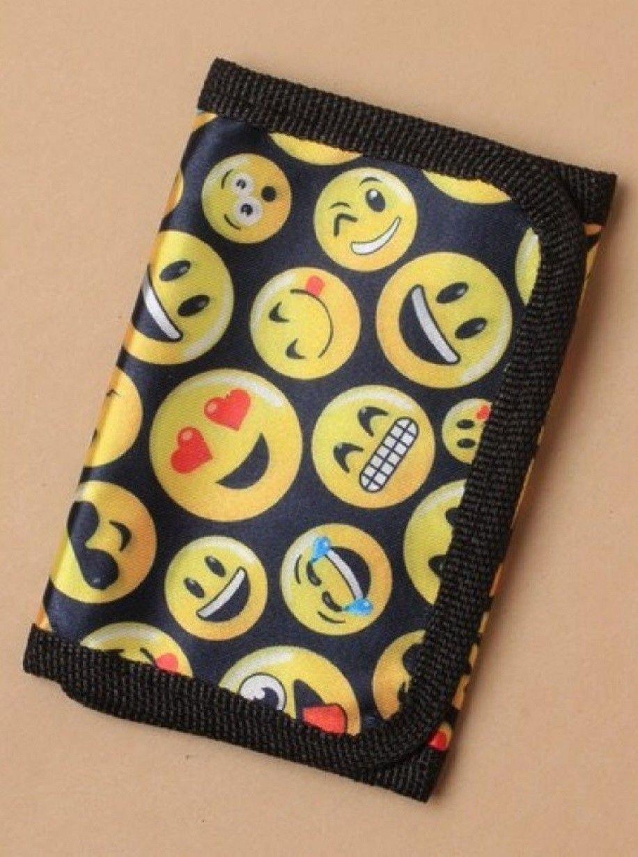 ALANNAHS ACCESSORIES Unisex Emoji Motif Wallet Christmas Stocking Filler