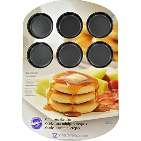 "Wilton Mini Pancake Pan-12 Cavity 11.25"" ..."