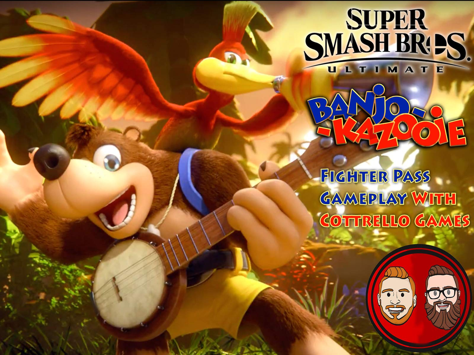 Super Smash Bros. Ultimate: Banjo-Kazooie Fighter Pass Gameplay