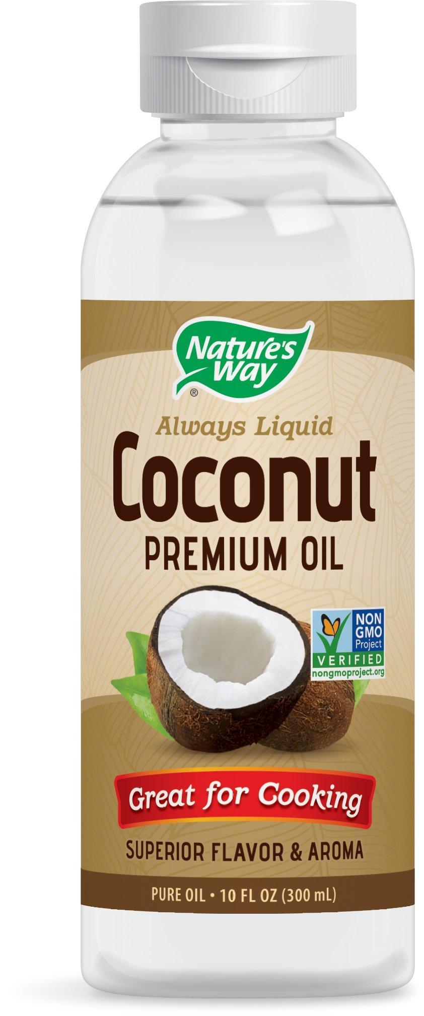 Nature's Way Liquid Coconut Premium Oil 10 oz