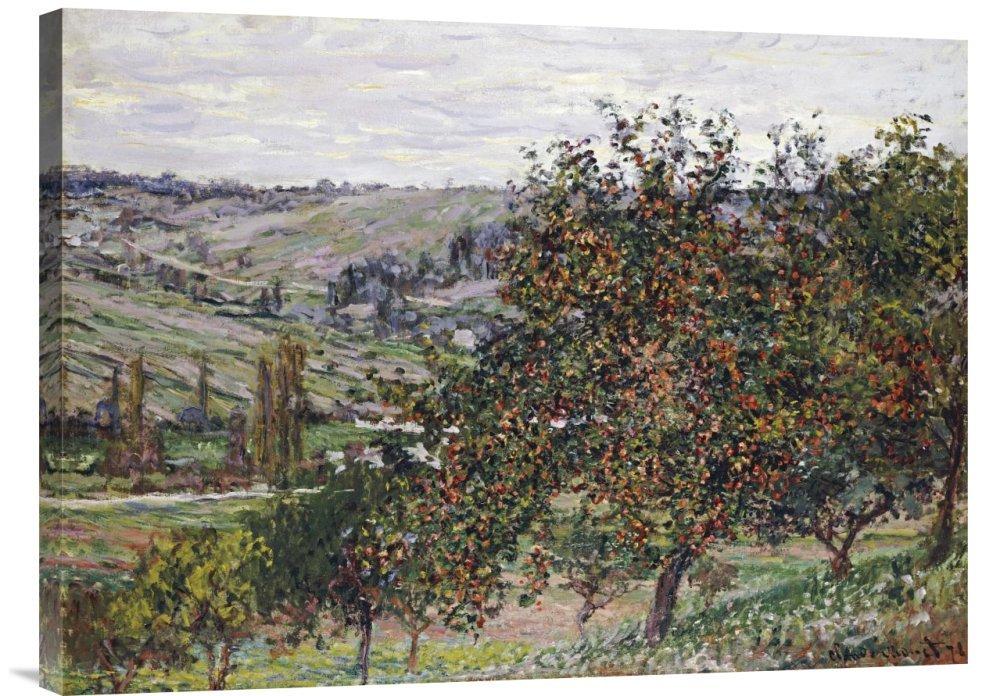 Global Galerie Budget gcs-265224–76,2–360,7 cm Claude Monet Apple Trees near near near Vetheuil 4.770,1 cm Galerie Wrap Giclée-Kunstdruck auf Leinwand Art Wand B01K1PNA14   Angenehmes Gefühl  7c4de4
