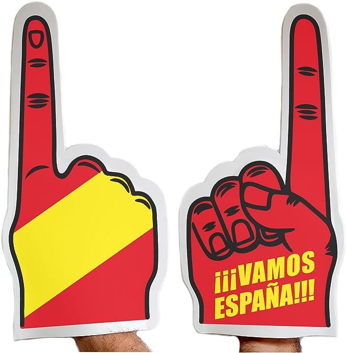 Fun Fan Line Pack de 3 Manos goma EVA España: Amazon.es: Deportes y aire libre