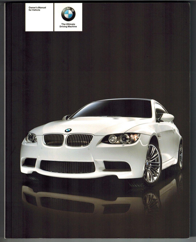 2011 BMW 3 Series Coupe/Convertible (328i, 328i xDrive, 335i, 335i xDrive,  335is, M3) Owners Manual: Bayerische Motoren Werke: Amazon.com: Books