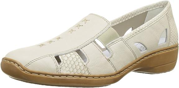 Rieker 41385 62, Mocassins Femme: : Chaussures et Sacs