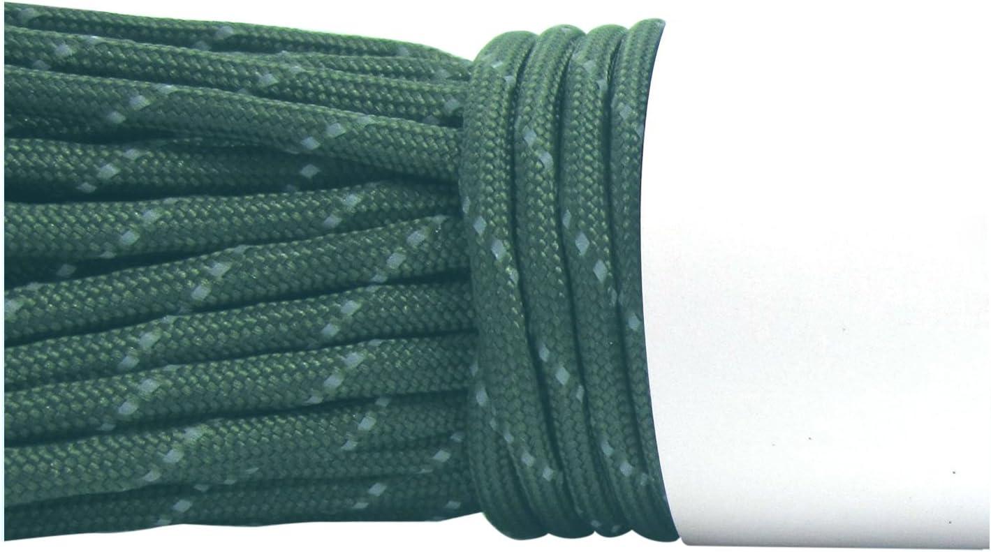 R /TOOGOO Parachute Cordon/ /Desert Camo 100/ft/ 550/lbs Parachute Corde de Parachute avec 7/straengen
