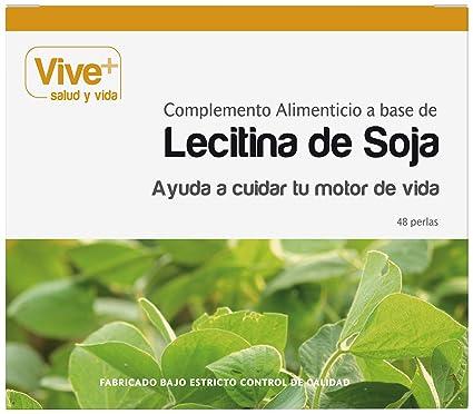 Vive+ Lecitina de Soja Perlas - 48 Cápsulas